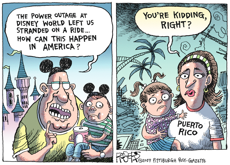 Shame of Puerto Rico
