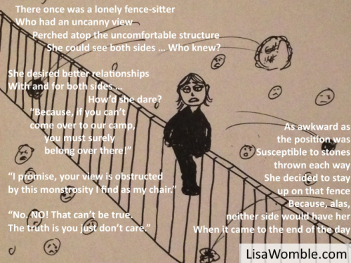 Fence-sitter