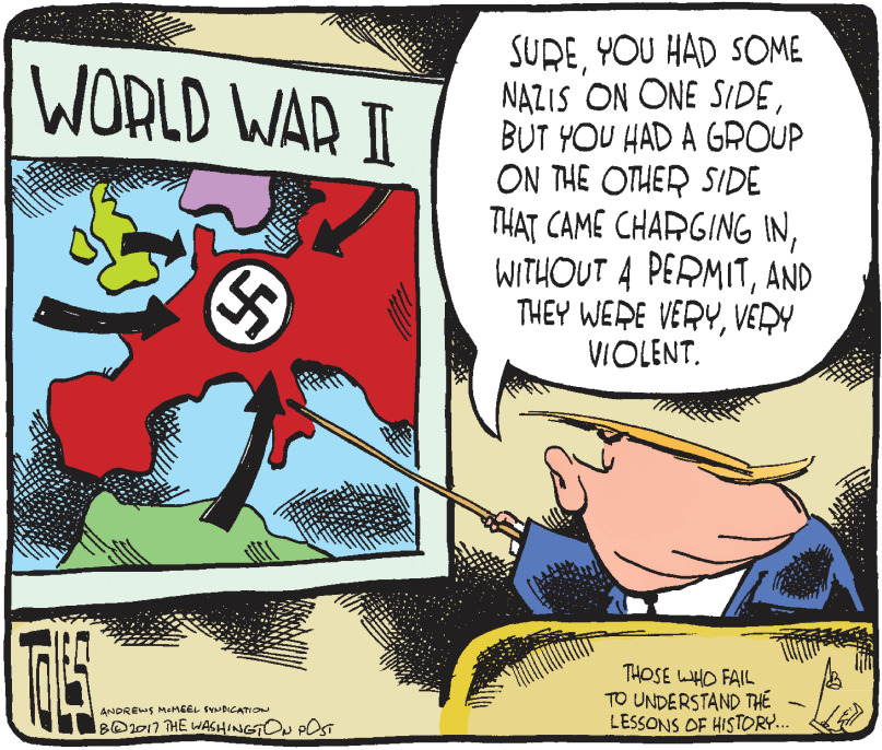 Trump's view of WWII