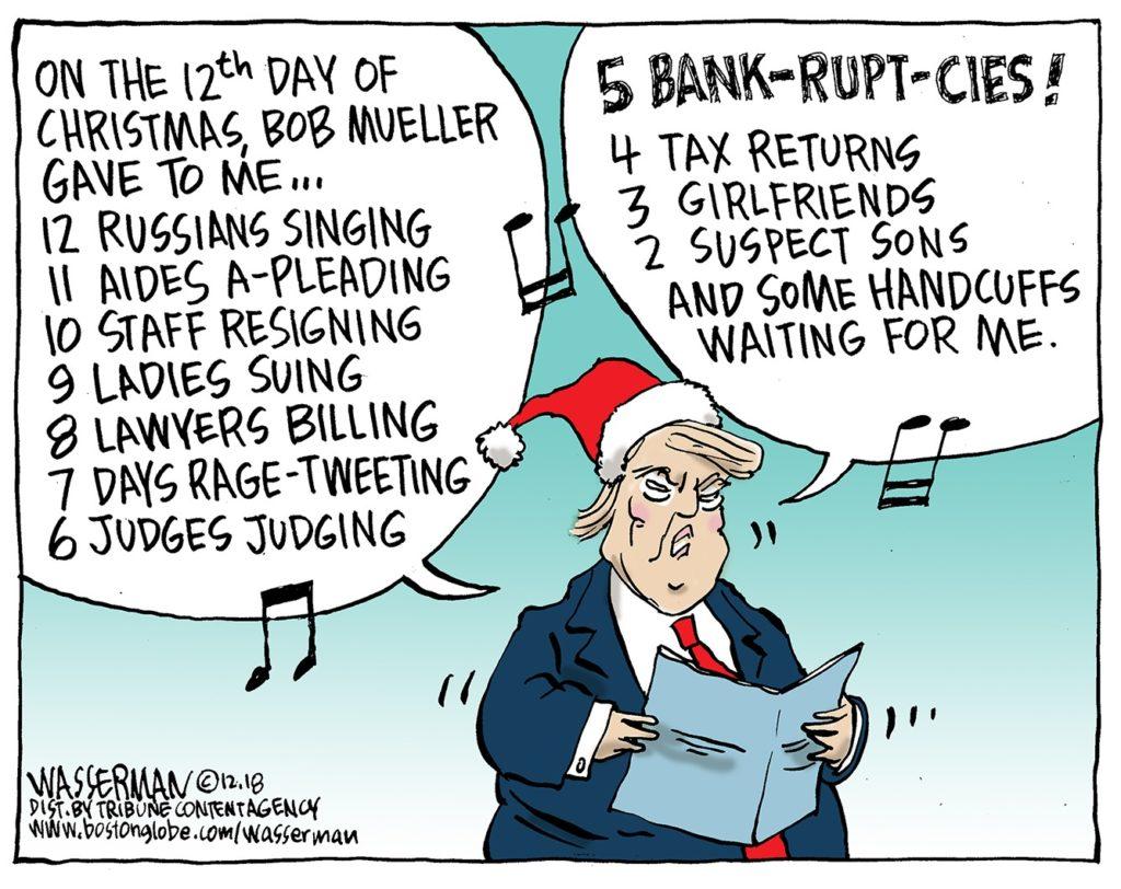 Merry Xmas Donald