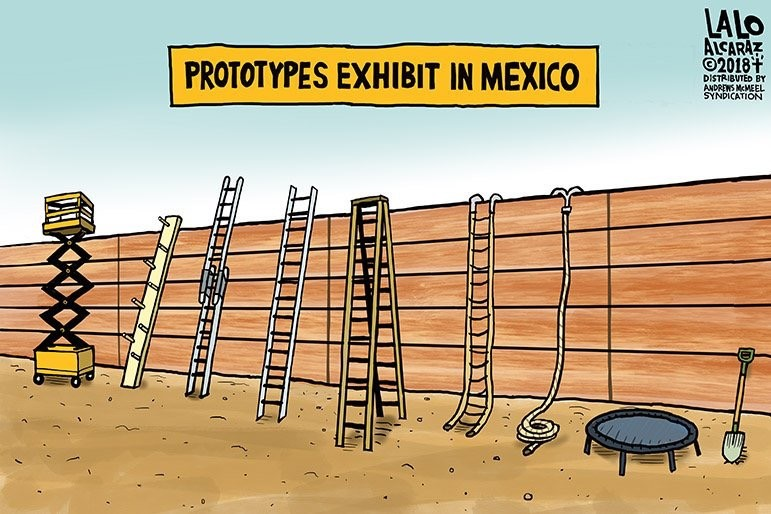 Mexican solution to the wall
