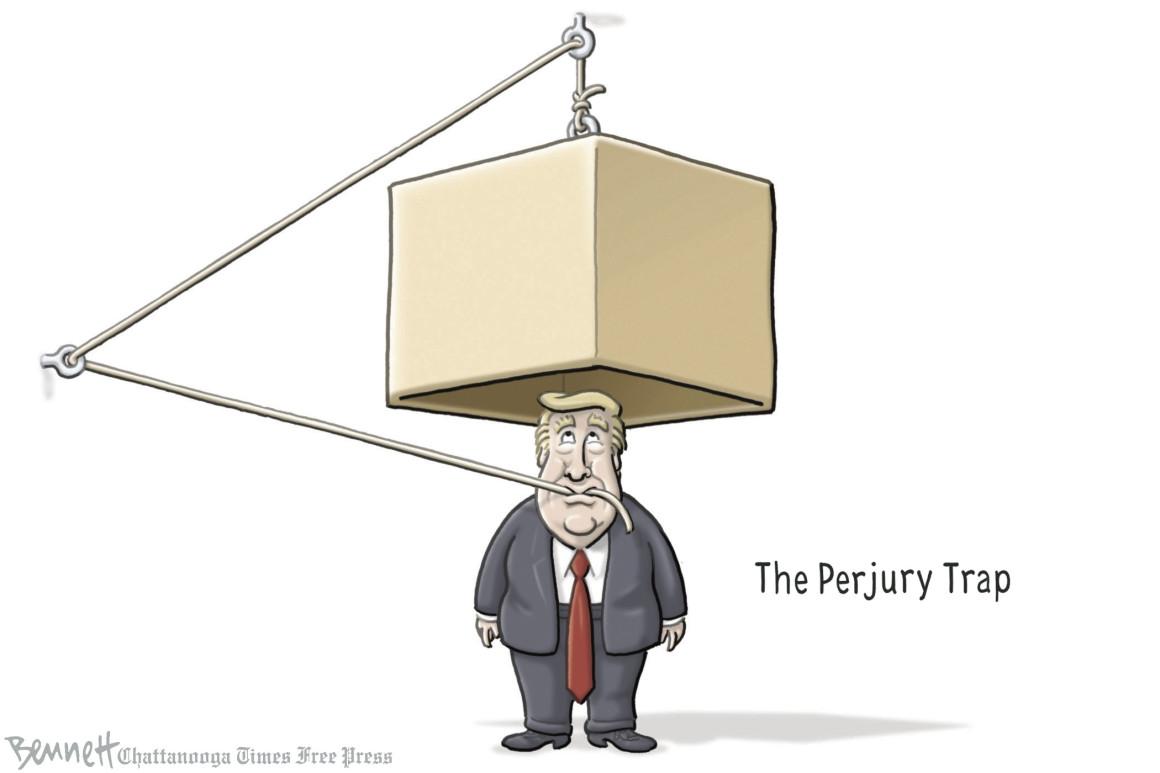 Perjury trap