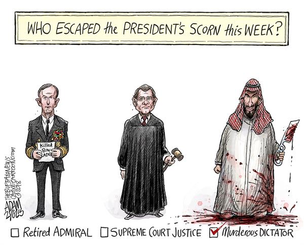 Trump's scorn