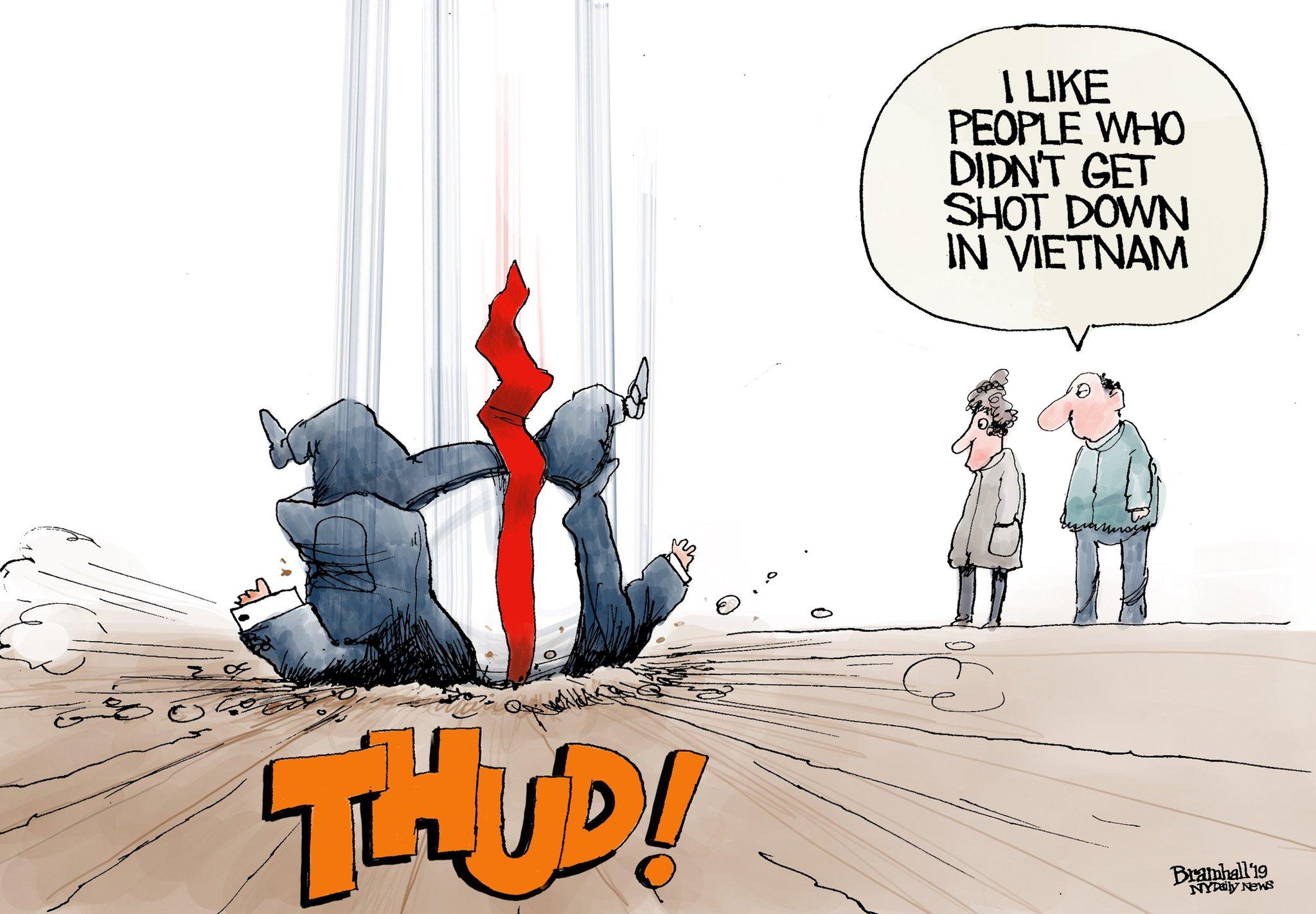 Trump Thud