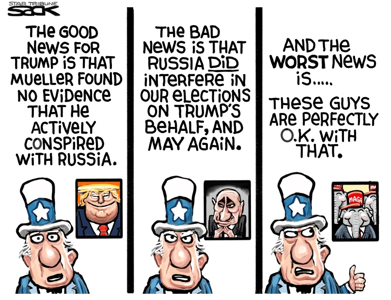 GOP OK with Russian interference