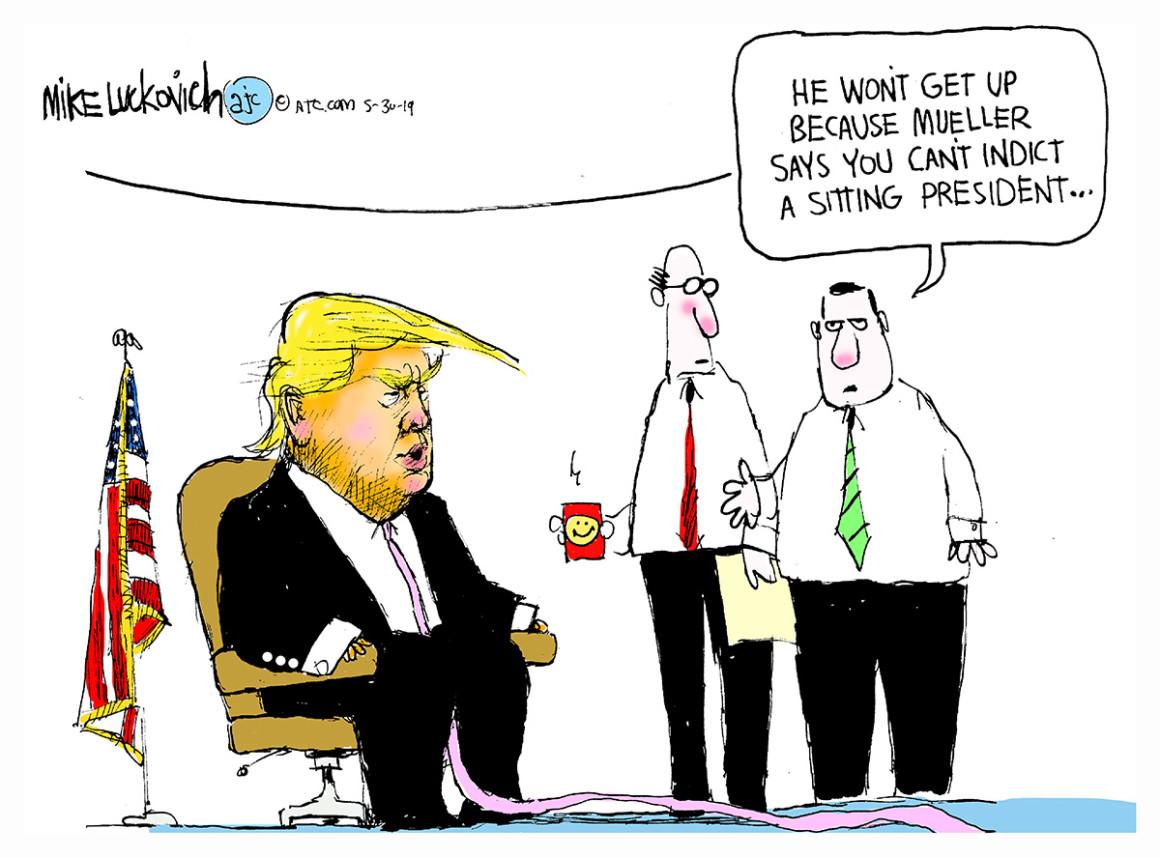 Mueller breaks silence