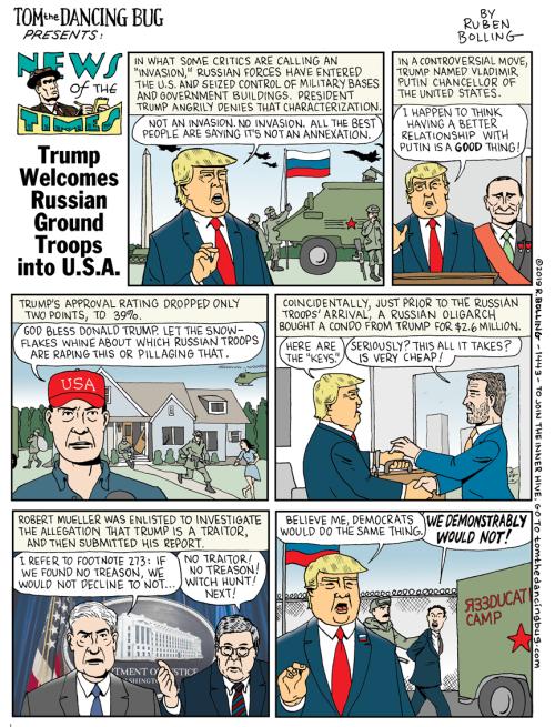 Trump-Russia-invades