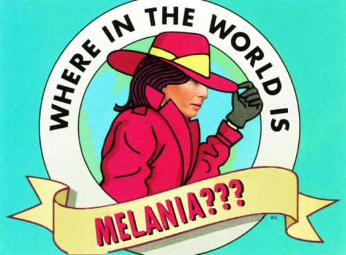Where_is_melania