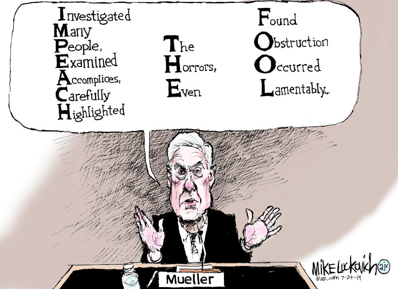 Mueller speaks in code